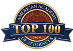 AAOA the Top 100 Badge for Kevin Crockett