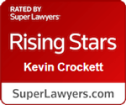 Kevin Crockett rising star badge