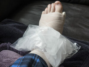 What are common injuries from trip and fall accidents
