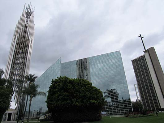Christ Cathedral in Garden Grove, California