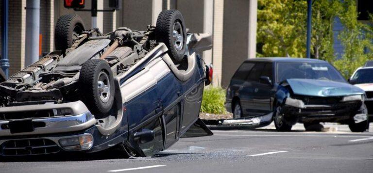 Multi-Vehicle Crash on Highway 138