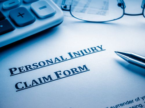 personal injury claim form, car accident lawyer