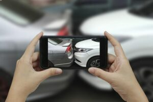 How is fault determined after an automobile accident.