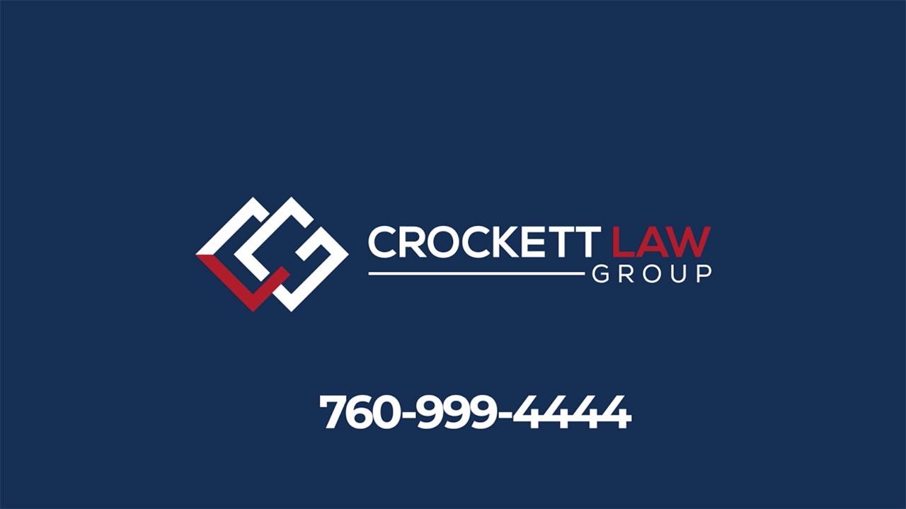Crockett Law Group - 760-999-4444